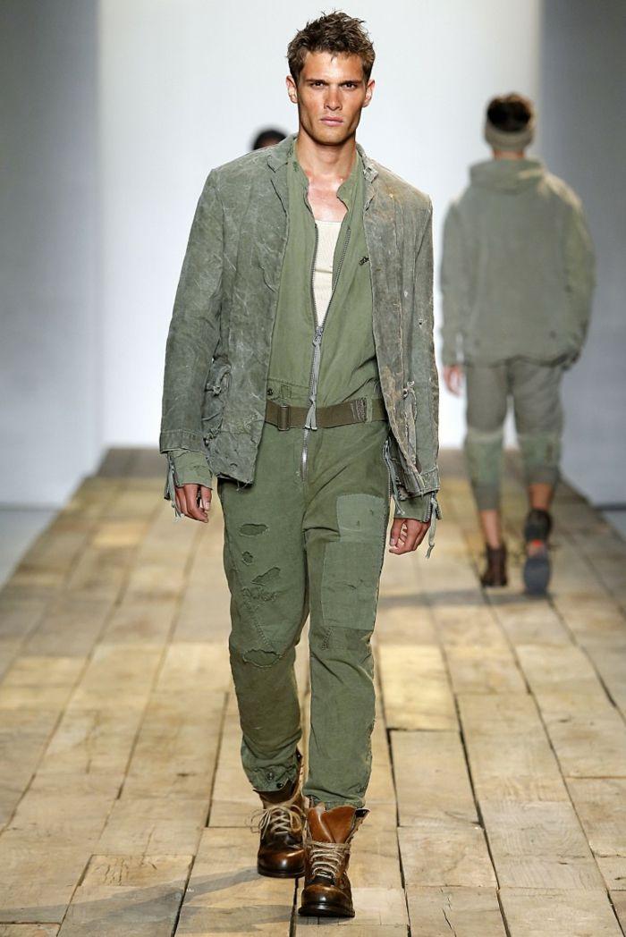 ropa diseno estilo militar Greg Lauren ideas