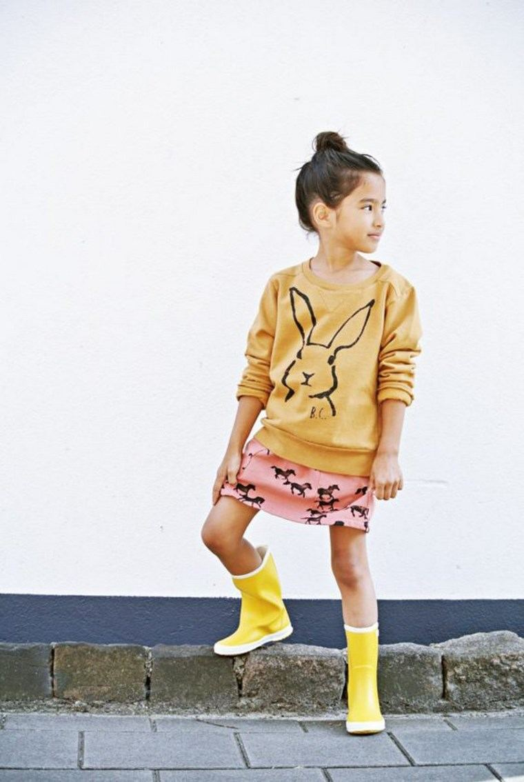 ropa infantil tendencias 2016 amarillo ideas