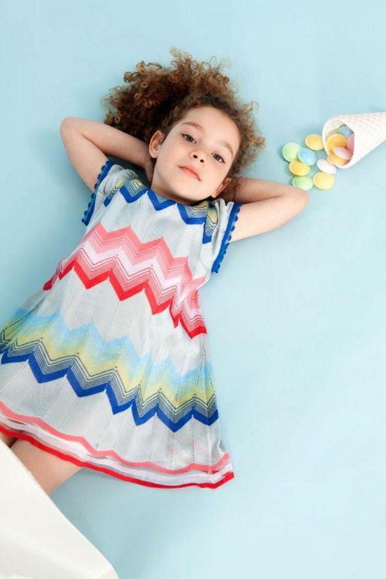ropa infantil tendencias 2016 estampa varios colores ideas