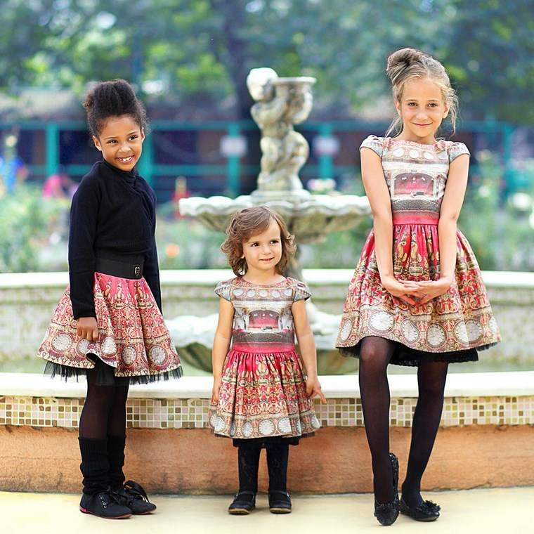 ropa infantil tendencias 2016 ninas estampa ideas