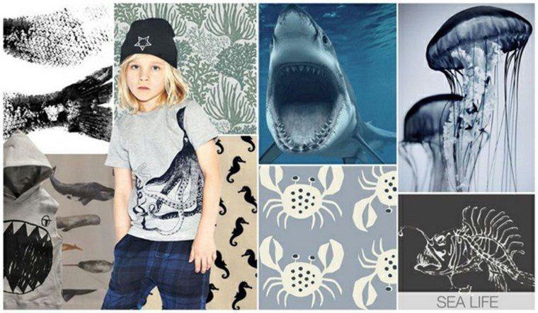 ropa ninos tendencias 2016 inspirada oceano ideas