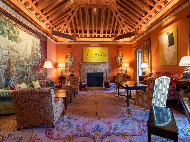 salon lujoso deco diseño andaluz