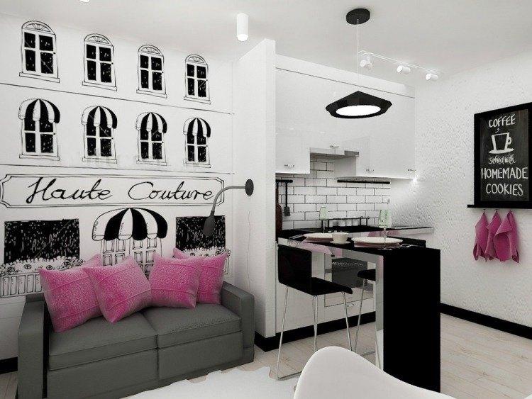 einrichtungsideen wohnzimmer in schwarz weis ? photodog.info