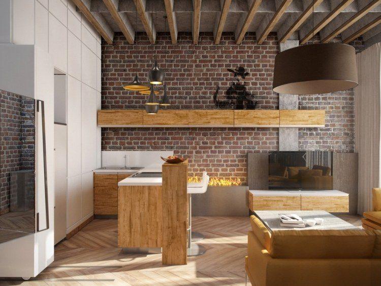 ziegelwand wohnzimmer:Wohnzimmer Steinwand Ideen: Maxresdefaultjpg steinwande ideen