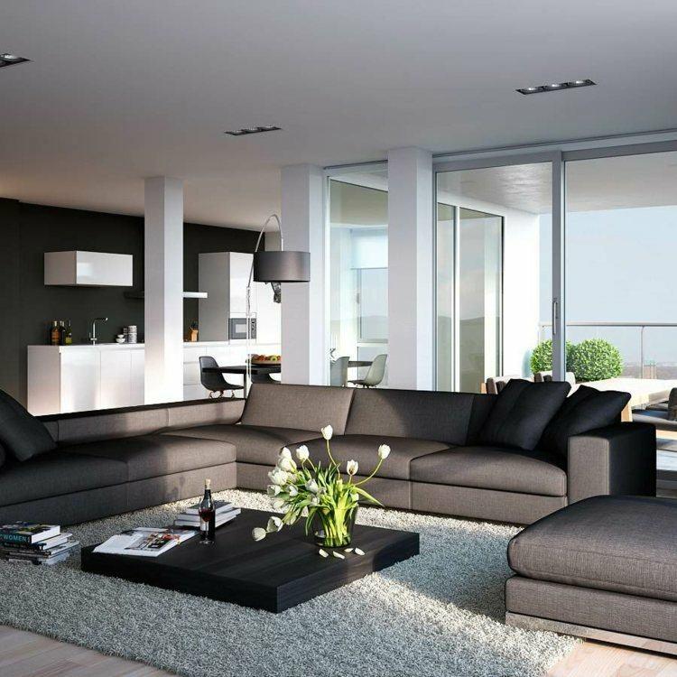 salones diseño moderno decoración bonita