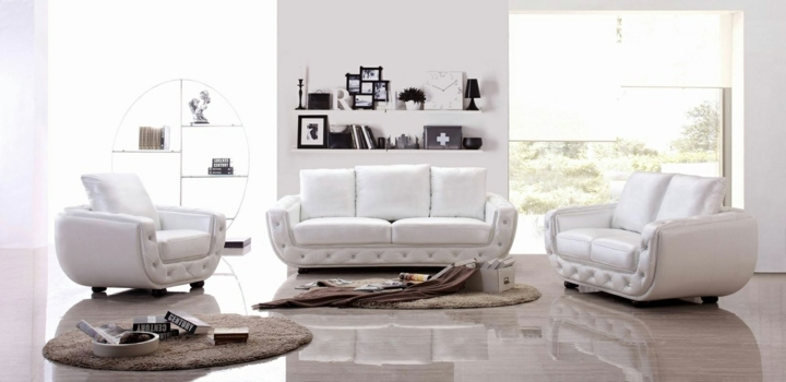 salones puentes ideas muebles lacado