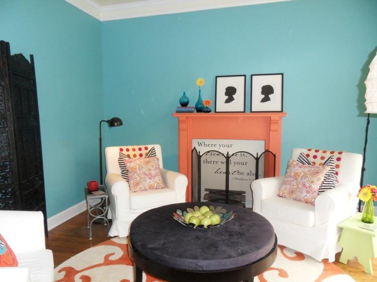 seleccion colores complementarios salón