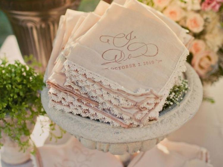 servilletas pañuielos tela vintage