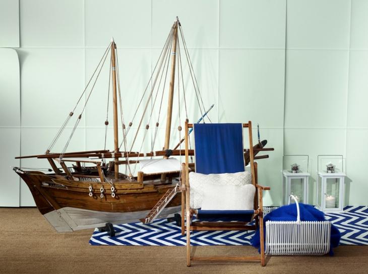 sillones habitacion estilos fresca salones azules