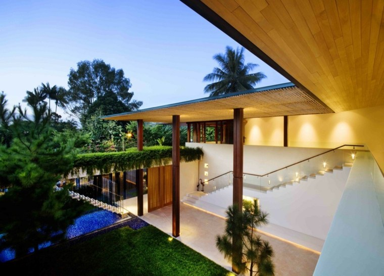singapore casa campo diseño moderno