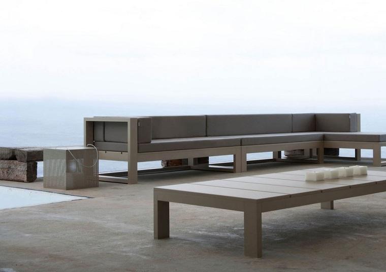 sofa grande lujosa perfecta jardin moderno ideas