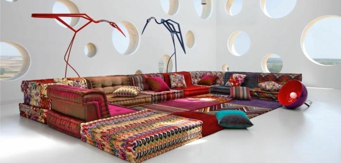 sofa mah jong elegantes coberturas faroles aves