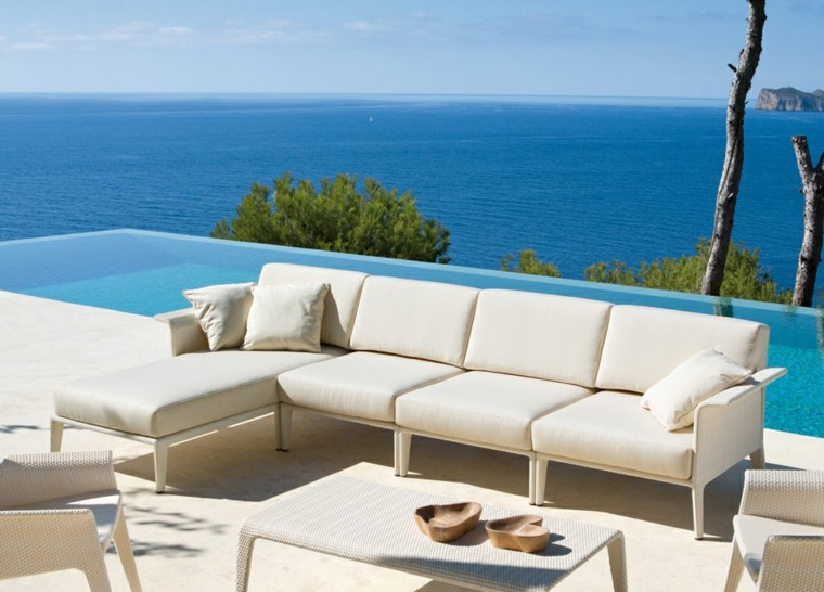 sofa terraza color beige
