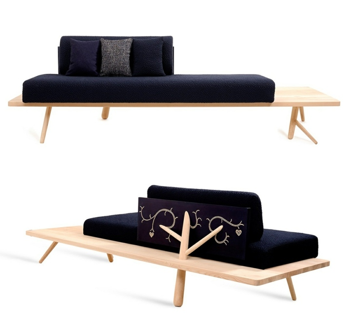 sofas creatividad ideas branch zanat madera