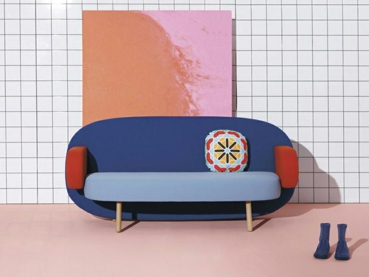 sofas creatividad ideas salones colorido botas