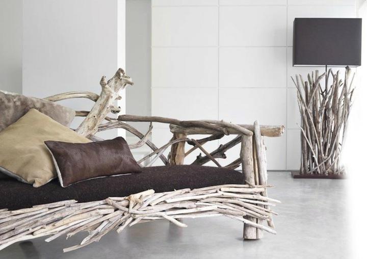 sofas creatividad ideas salones puentes lamparas