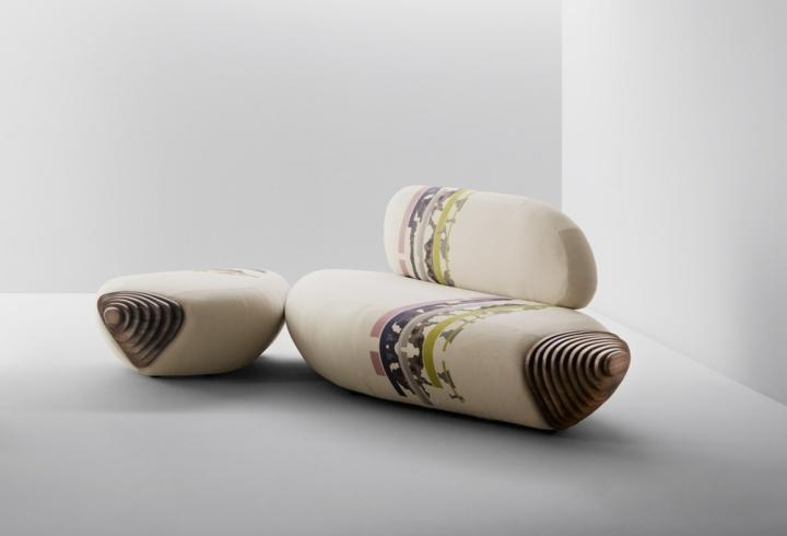 sofas creatividad ideas salones tendencias botan madera