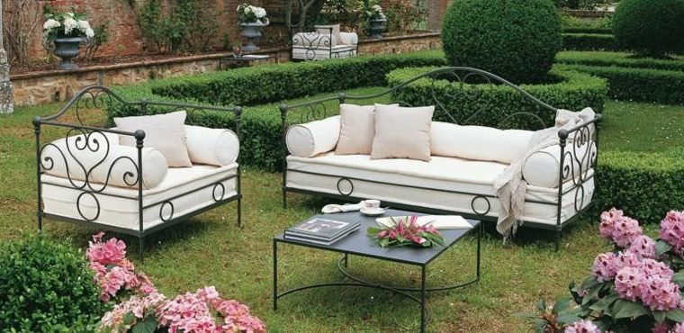 Sofas jardin los 50 mejores modelos de esta temporada for Muebles de mimbre para jardin