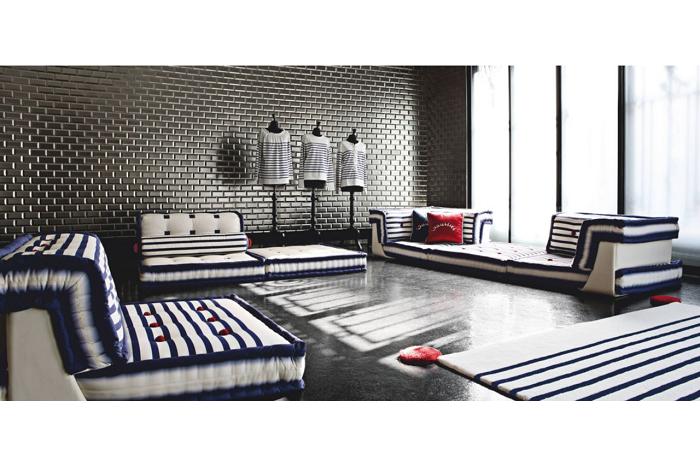 sofas ideas diseños tendencias azules mobiles