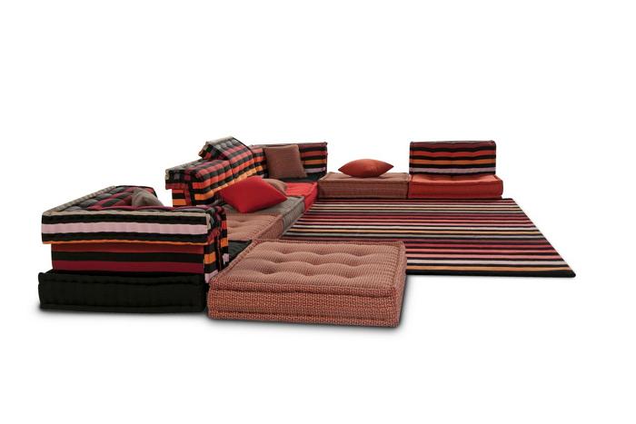 sofas ideas diseños tendencias modernos negro