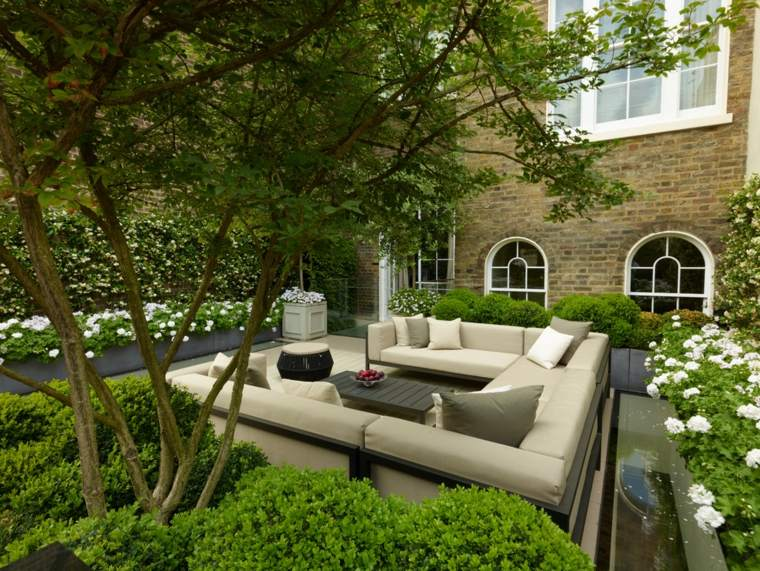 sofas terraza diseño lujosos deco