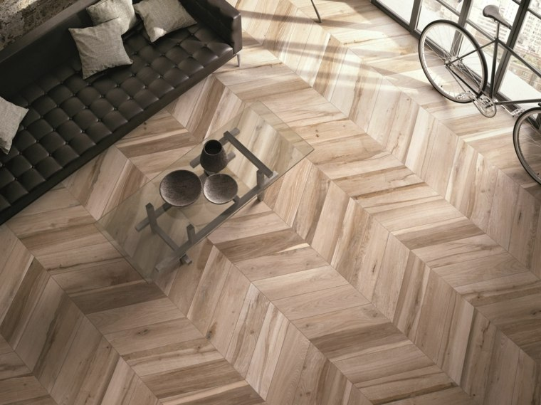 suelos porcelanicos ceramicos imitando madera parquet ideas
