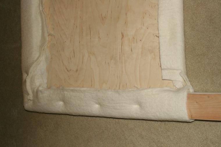 Como tapizar un cabecero cincuenta ideas originales - Tapizar un cabecero de cama ...