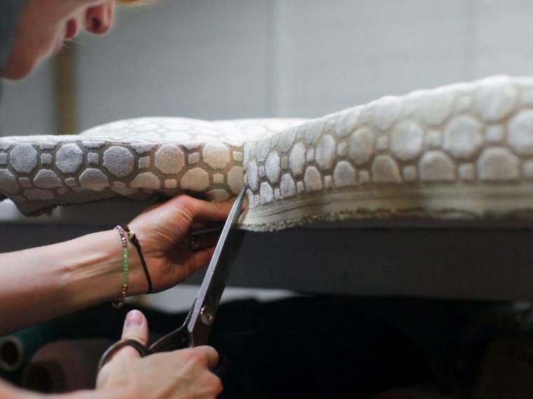 Como tapizar un cabecero cincuenta ideas originales - Como forrar un cabecero ...