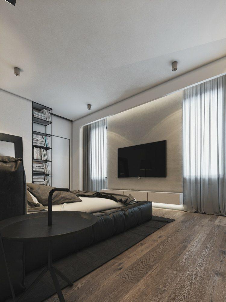 television salones detalles muebles color