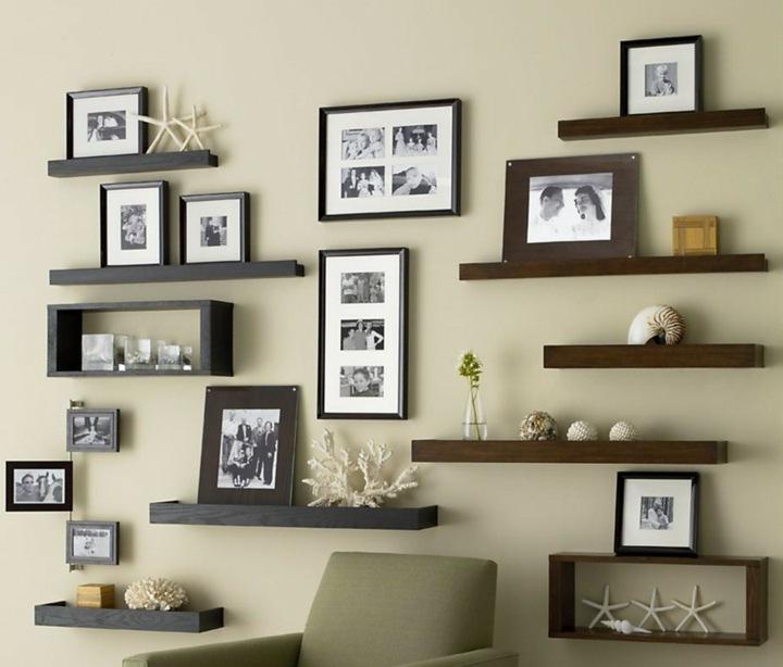 tendencias decoracion paredes habitaciones estantes estrellas