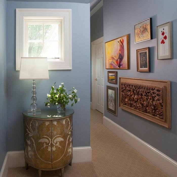 como decorar pasillos variaciones puertas