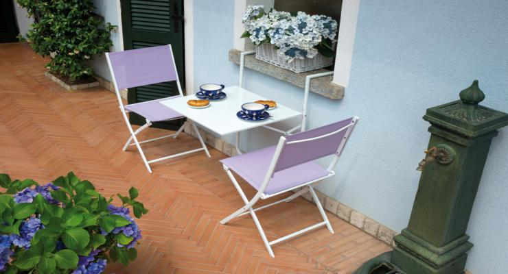 muebles funcionales sencillos terraza