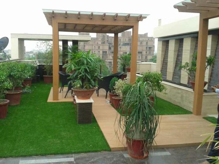 terrazas con jardin fuentes casas maderas salones