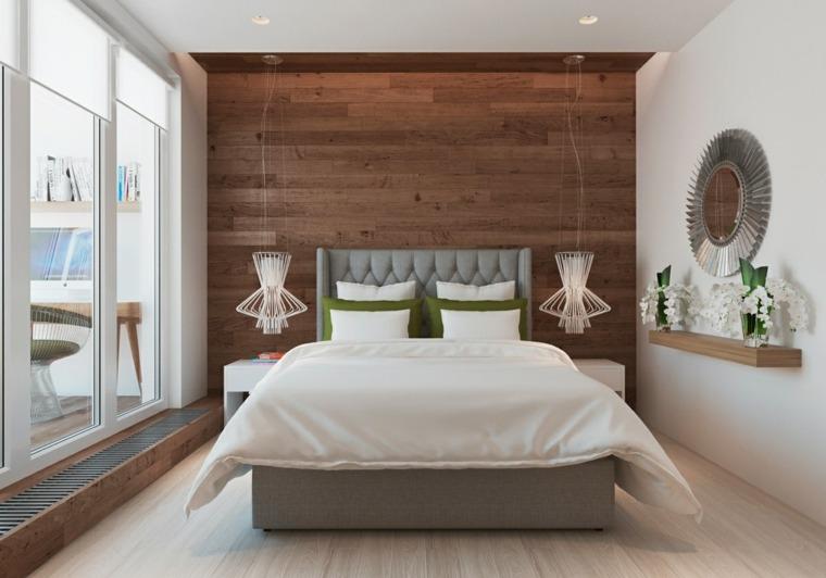 textura madera opciones decorar dormitorio acogedor ideas
