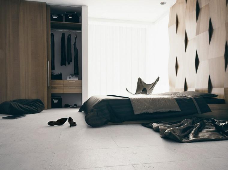 madera opciones decorar dormitorio femenino ideas