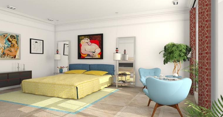 original diseño colores dormitoiro