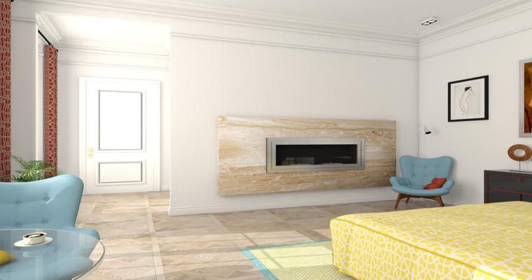 diseños modernos habitaciones colores