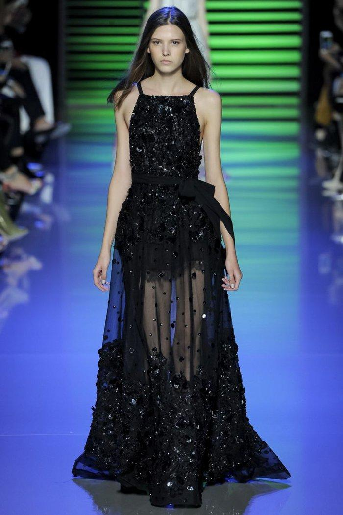 Elie Saab vestido negro