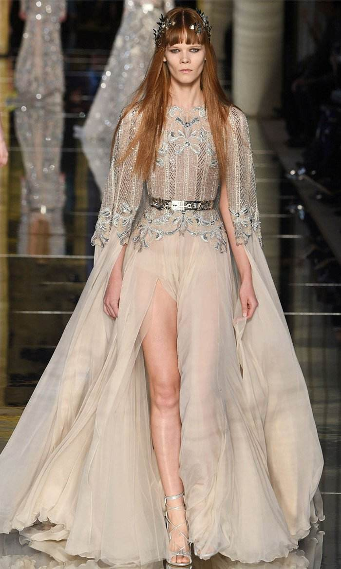 diseño vestido zuhair murad
