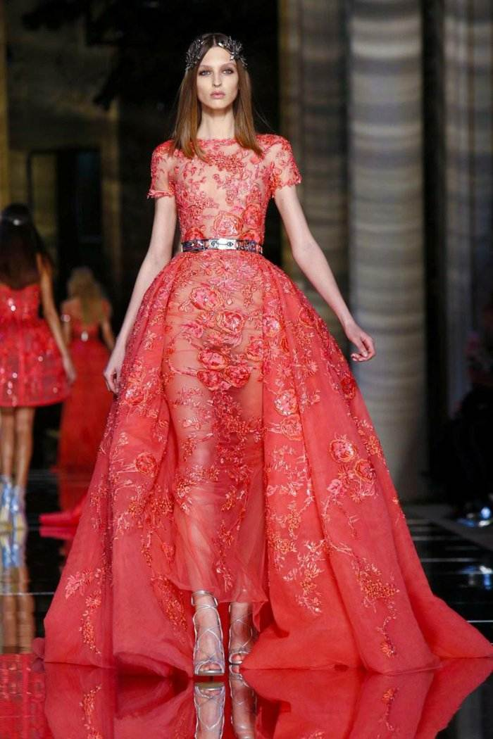 Zuhair Murad color rojo