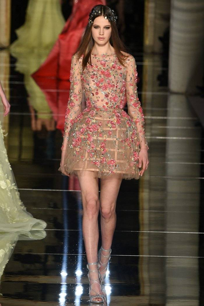zuhair murad vestido corto