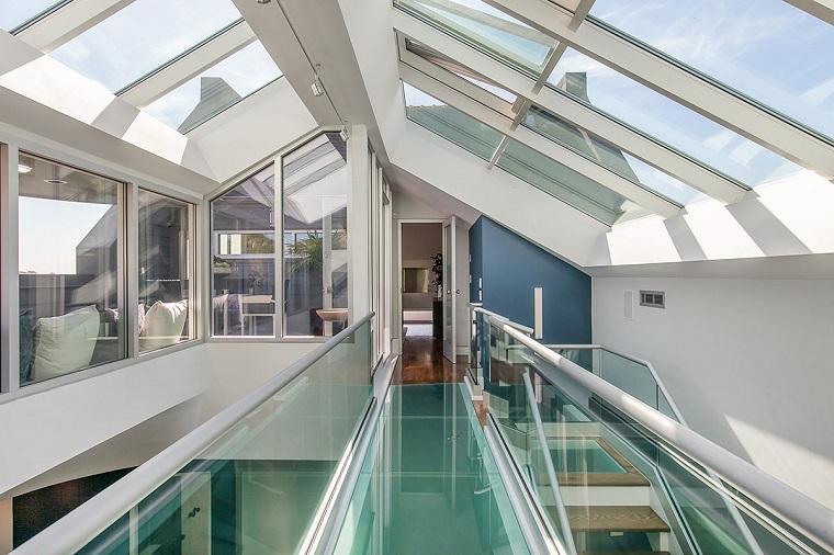 vidrio puente une dos partes casa ideas