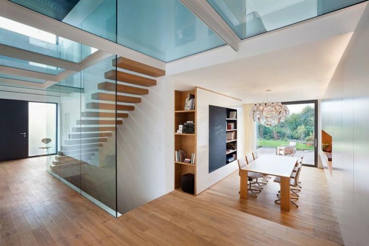 Vidrio 35 opciones originales de suelos y techos - Techos de cristal para casas ...