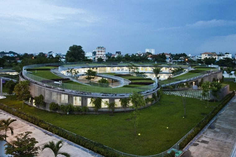 vietnam casa diseño arquitectura vegetal