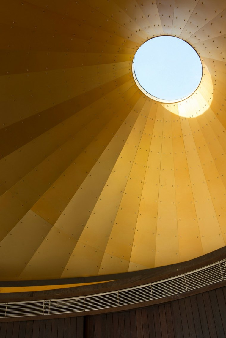 golden dome interior view