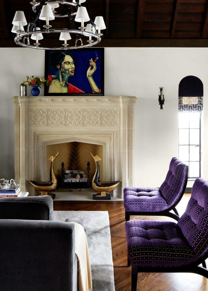 vistas detalles salas ideales cuadros azules