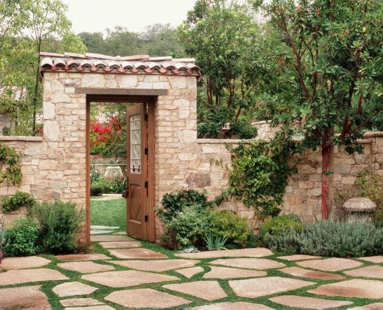 puerta clásica ventana muro