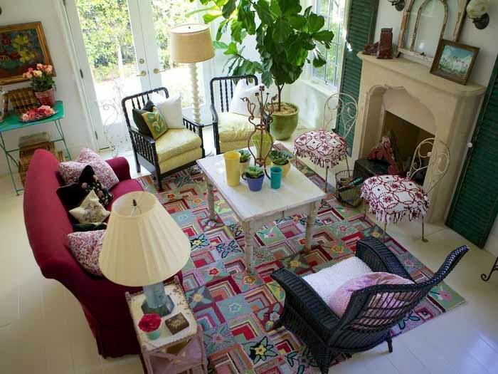 Alison Kandler diseno este salon colorido ideas