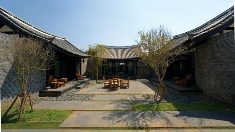 Banyan Tree Lijiang Resort China jardin ideas