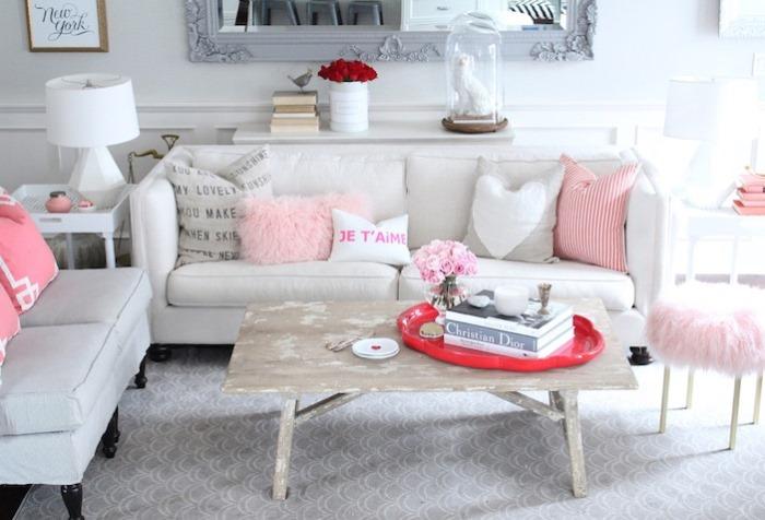 Jillian Harriss casa salon moderno primaveral ideas